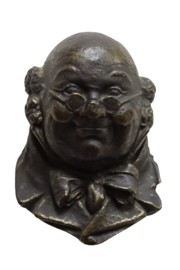Wandhoofdje 'George'