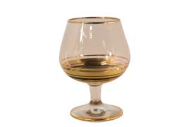 Set van 4 cognacglazen