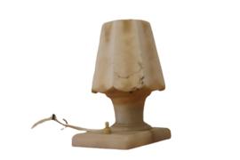 Travertin bedlampje