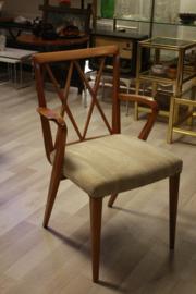 Set van 4 A.A. Patijn voor Zijlstra Joure stoelen