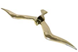 Messing meeuw (50 cm)