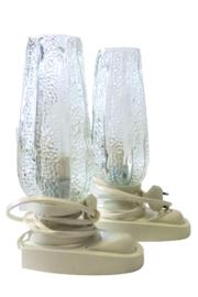 Set van 2 tafel- / bedlampjes