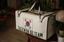 Vintage teakwon-do tas
