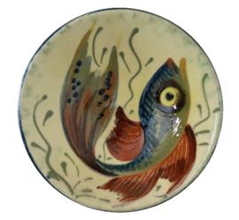 Wandbord vis