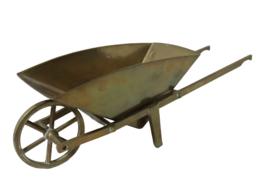 Messing kruiwagen