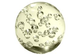 Glazen Presse Papier 'bubbel'
