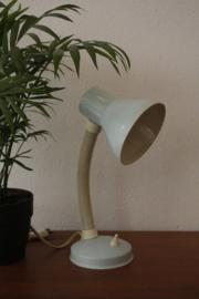 Pastelblauw bureaulampje