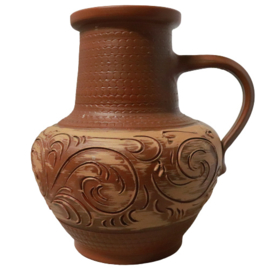 Terracotta vaas 'Janvier'