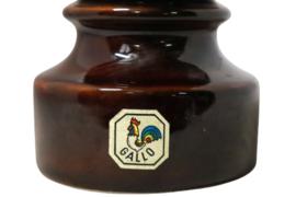 Gallo keramieken kandelaar