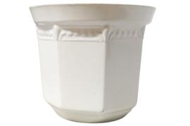 Witte bloempot 'Karin R B 12'