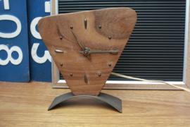 Jaren '60 houten klokje