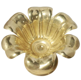 Messing bakje in vorm van een bloem