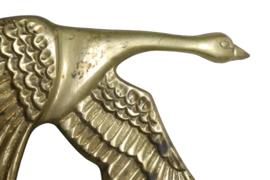 Messing vliegende gans