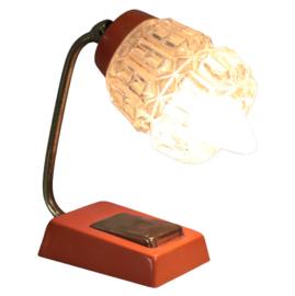 Tafellampje met messing
