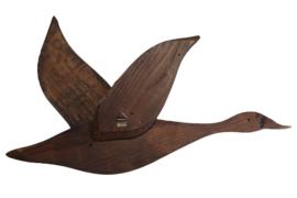 Houten gans (wanddeco)