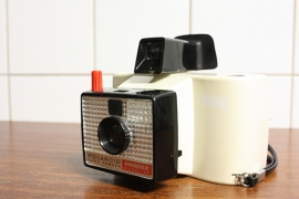 Polaroid land camera swingel model 20
