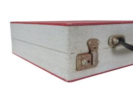 Platenkoffer rood (24 platen)
