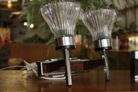Wandlamp met dubbel lichtpunt