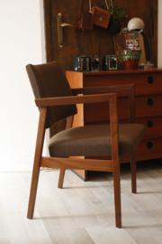Jaren '70 stoel met leuning