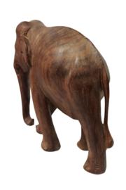 Teakhouten olifant