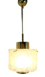 "Kalmar frosted glass hanglamp ""Steyerberg"""