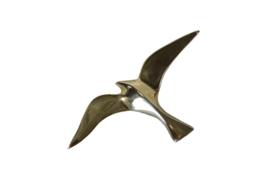 Messing meeuw (15 cm)