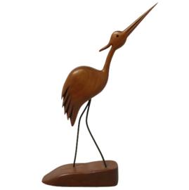 Houten watervogel