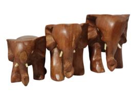 Set van 3 olifantjes