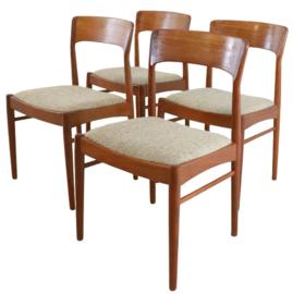 Deense eetkamerstoelen KS Möbler Kvadrat (set van 4 stoelen)