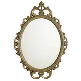 Distressed spiegel - ovaal