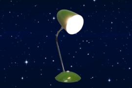 Bureaulamp groen