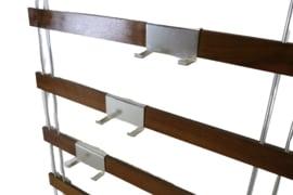 Wandkapstok met verplaatsbare grepen