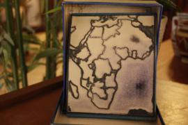 Grote schoolstempel Afrika