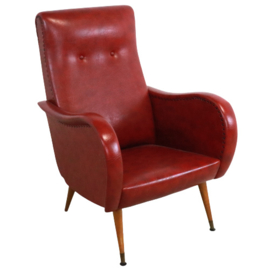 Rode fauteuil