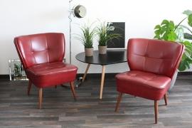 Set van 2 cocktailstoelen