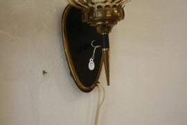 Vintage jaren '50 wandlamp