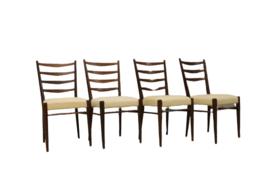 Set van 4 Pastoe eetkamerstoelen CB09