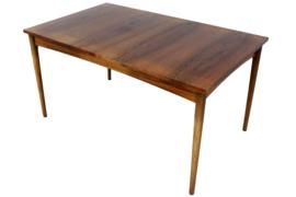 Palissander uitschuifbare eetkamer tafel