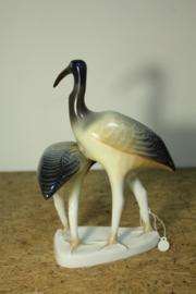 Porseleinen beeld vogels