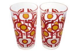 Set van 2 limonadeglazen