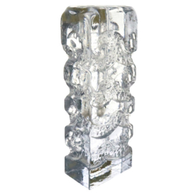 Kristallen solifleur vaas 'Bleikristall Blockkristall Zweigvase'