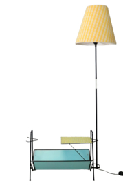 "Jaren '50 vloerlamp / lectuurbak ""Ockenburgh"""