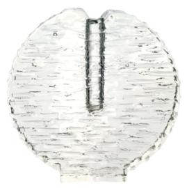 Glazen vaas 'cirkel'