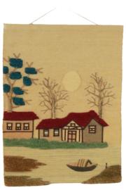 Wandkleed 'Haus am See'