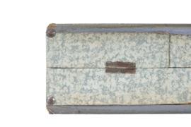 Platenkoffer grijs (20 platen)