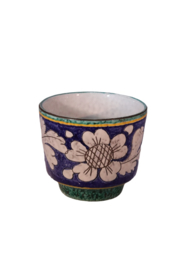 Vintage bloempot (twee aanwezig)