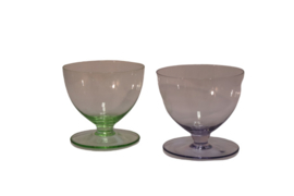 Set gekleurde glazen