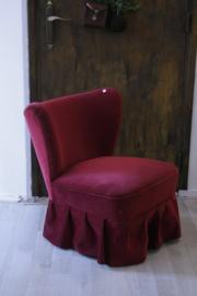 Cocktailstoel met rok (2 aanwezig)