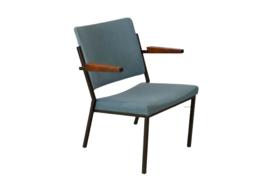 """Fauteuil W.H. Gispen voor Emmeinstaal """"Uitdam""""   2 fauteuils beschikbaar"""