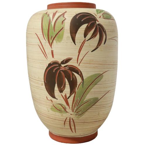 Terracotta vaas botanisch
